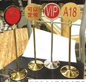 不銹鋼臺號牌桌號牌雙面數字牌酒店餐桌牌號碼牌叫號牌金屬臺牌 米蘭潮鞋館YYJ