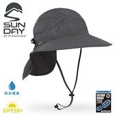 【Sunday Afternoons 美國 抗UV防水透氣護頸帽《暗夜灰》】SAS3A01558B/防曬帽/遮陽帽/登山/露營