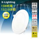 爆亮 LED 崁燈 15W亮度 15cm...