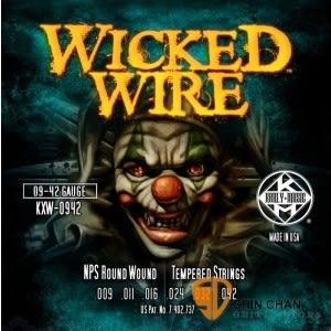 Kerly 冰火弦 KXW-0942 美製電吉他弦 Wicked Wire系列 (09-42)