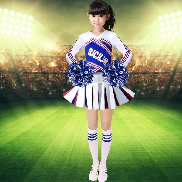 成人啦啦隊啦啦操服中小學生拉拉隊服兒童啦啦操啦啦隊啦啦裙服裝