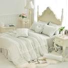 雙人床罩 約定 灰綠 標準雙人 天絲 精...