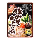 ICHIBIKI豬肉味噌火鍋高湯底750G【愛買】