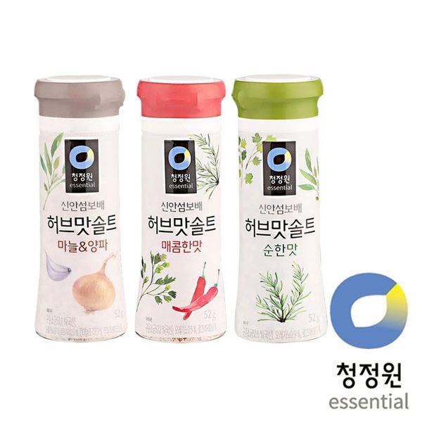韓國 大象 韓式 蒜味 / 辣味 / 香草 烤肉調味鹽 52g 三種口味任選 蒜鹽 辣鹽 香草鹽 調味鹽