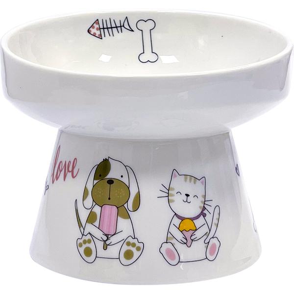 【寵大爺】【PANS】護頸寵物瓷碗M