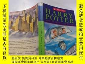 二手書博民逛書店harry罕見potter and the chamber of secrets:哈利波特與密室.Y21282