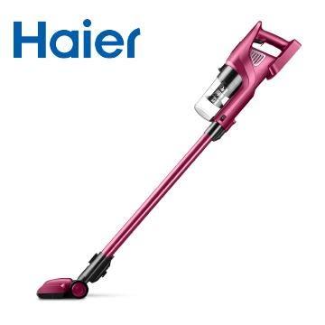 Haier 海爾 無線手持吸塵器 HZB1205RE 玫瑰紅 ‵可拆式滾刷 ‵地刷馬達