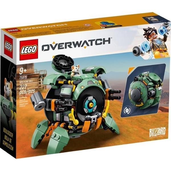 LEGO 樂高 Overwatch 系列 75976 Wrecking Ball