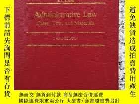 二手書博民逛書店ADMINISTRATIVE罕見LAW CASES ,TEXT,AND MATERIALSY232910