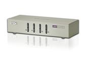 ◤全新品 含稅 免運費◢ ATEN 4埠USB VGA/音訊 KVM多電腦切換器 ( CS74U )