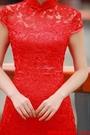 (45 Design)  專業訂製款 大尺碼 定做顏色  中國風禮服 旗袍 媽嗎裝 親家母