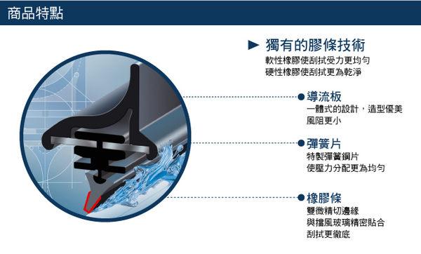 BOSCH旗艦型 空氣動力軟骨雨刷22吋【亞克】