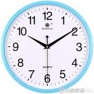 七王星掛鐘客廳家用靜音電子石英鐘圓形創意簡約鐘表定制LOGO  印象家品