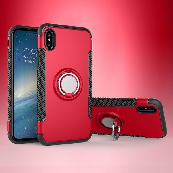 iPhoneX/Xs Xs MaX素面手機殼保護套 IPhone11防摔車載保護殼 蘋果6/6s 7/8/XR手機殼 蘋果11手套