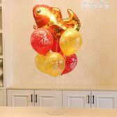2019春節新年裝飾氣球桌飄KTV酒吧派對商場柜臺場景布置福字氣球YYP 麥琪精品屋