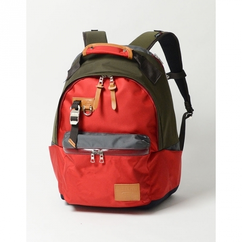 MSPC(master-piece) POTENTIAL-v2 No.01755v2-RED [高機能素材拼接後背包-紅色]