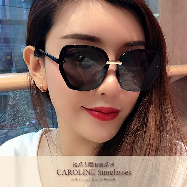 《Caroline》年度最新網紅款潮流百搭抗UV時尚太陽眼鏡 71955