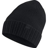 NIKE 配件系列 NSW BEANIE HONEYCOMB -女款全黑小標毛帽- NO.925417010