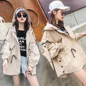 外套女春秋韓版學生2018新款秋季bf原宿寬鬆小個子薄款外衣女裝潮