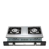(全省安裝)喜特麗雙口嵌入爐(與JT-GU210S同款)白鐵瓦斯爐天然氣JT-GU210S_NG1
