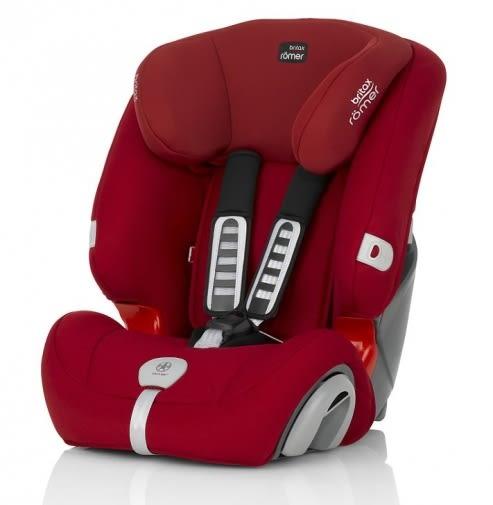 【愛吾兒】Britax EVOLVA 1-2-3 PLUS 1-12 歲安全座椅 紅色