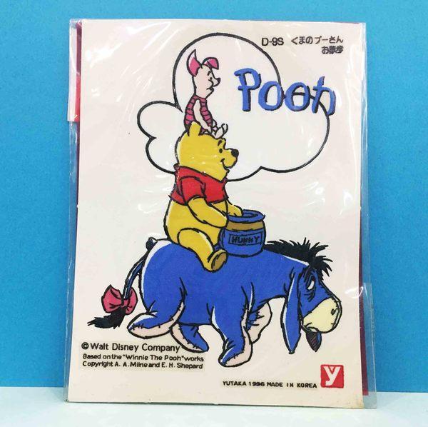 【震撼精品百貨】Winnie the Pooh 小熊維尼~造型貼-驢子