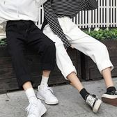 超火褲子女學生寬鬆韓版闊腿運動休閒原宿風bf哈倫秋春季全館免運
