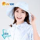 UV100 防曬 抗UV-涼感輕巧漁夫帽-女