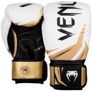 『VENUM旗艦館』10oz VENUM Challenger 3.0拳套~挑戰者手套初學者專用-白黑金3525520