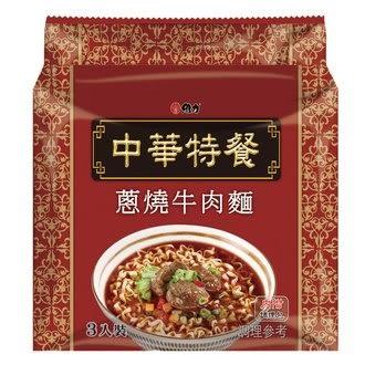 維力 中華特餐 蔥燒牛肉麵 135g/袋【康鄰超市】