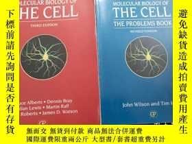 二手書博民逛書店Molecular罕見biology of the cell t