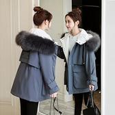 羽絨服 冬季羽絨棉衣棉服女韓版寬鬆棉襖中長款大碼加厚外套女裝 韓菲兒