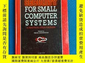 二手書博民逛書店Security罕見for small computer systems小型计算机系统安全Y427709