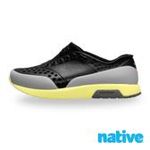 native 小童鞋 LENNOX 小雷諾鞋-瞬黑x苔原灰