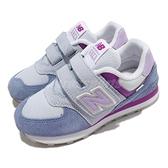 New Balance 童鞋 574 寬楦頭 紫 中童鞋 4-7歲 矯正鞋 休閒鞋 NB【ACS】 PV574SL2W
