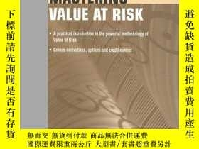 二手書博民逛書店Mastering罕見Value At RiskY256260 Cormac Butler Financial