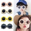 韓國時尚兒童太陽眼鏡 磨砂小花太陽眼鏡 抗紫外線UV400 檢驗合格