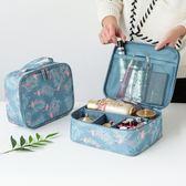 收納袋 收納袋化妝包小號便攜韓國簡約大容量多功能收納袋隨身旅行少女心洗漱包