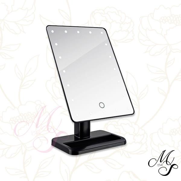 【Miss Sugar】LED大方觸控鏡/化妝鏡/美魔鏡(2色可選)