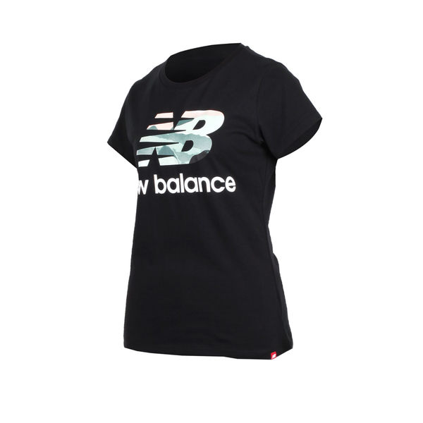 NEW BALANCE女短袖T恤(NB 短T 路跑 慢跑≡體院≡