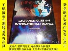 二手書博民逛書店Exchange罕見Rates and Internationa