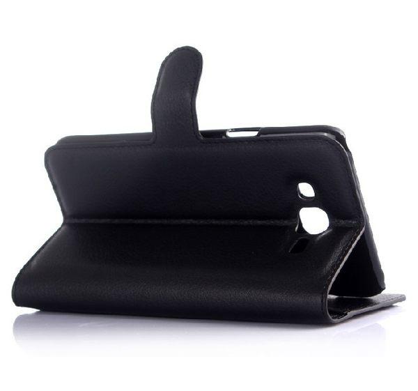[24hr 火速出貨] 可插卡 荔枝紋 j7 舊版 保護殼 手機殼 皮套 手機支架 翻蓋 皮套