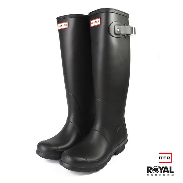 【零碼出清】Hunter Boots Original Tall 黑色 霧面 赫特威靈頓雨靴 女款 NO.I2340