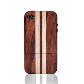 【東西商店】下殺~~X-Doria Precious Rare Rosewood iPhone 4黃花梨拼楓木保護殼