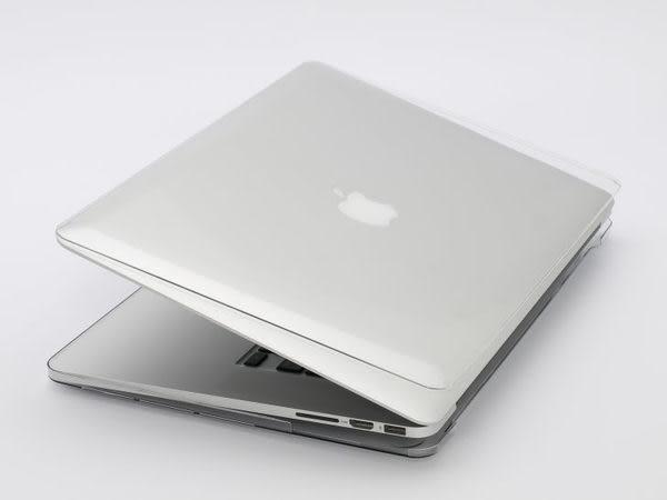 【漢博商城】POWER SUPPORT MacBook Pro 13吋 Retina Air Jacket 透明保護殼(2012-2016發售皆適用)附贈鍵盤膜