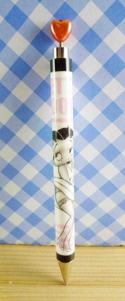 【震撼精品百貨】Betty Boop_貝蒂~自動筆-白英文