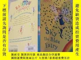 二手書博民逛書店sky罕見the blue fairy :藍天仙女。Y200392