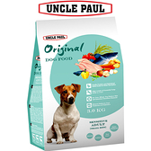 【UNCLE PAUL】保羅叔叔田園生機狗食 3kg(低敏成犬-小顆粒)