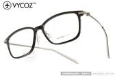 VYCOZ 光學眼鏡 LOUIS BLKGN (黑-槍黑) 創新技術 薄鋼工藝簡約休閒款 平光鏡框 # 金橘眼鏡
