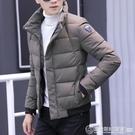 2019新款冬季男士棉衣韓版修身帥氣小棉襖子個性棉服冬裝潮流外套  圖拉斯3C百貨